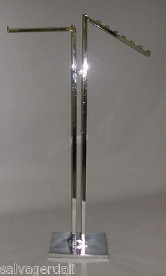 NEW Upright Display Rack Waterfall/Straight Square Tube