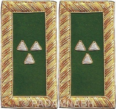 Knight Templar Prelate Shoulder Boards Pair Hand Embroidered (Sb-006)