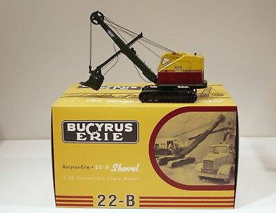 Bucyrus Erie 22B Cable Shovel - 1/50 - EMD #T001 - Metal Tracks