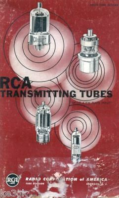 RCA Transmitting Tubes Manuals * CDROM * PDF