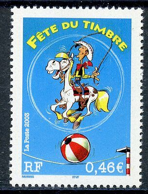 Timbre France Neuf N° 3546 ** Dessin Annime Lucky Comic