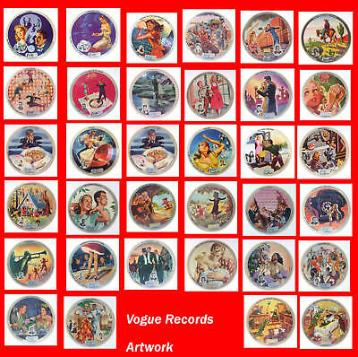 VOGUE Picture Records ARTWORK CD Featuring 34 Graphics