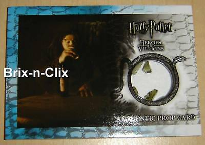 Harry Potter Heroes and Villains Prop Card P9 #170/210!