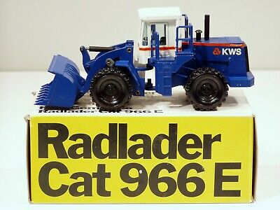"Caterpillar 966E Loader - ""KWS"" - 1/50 - NZG #237 - N.MIB"