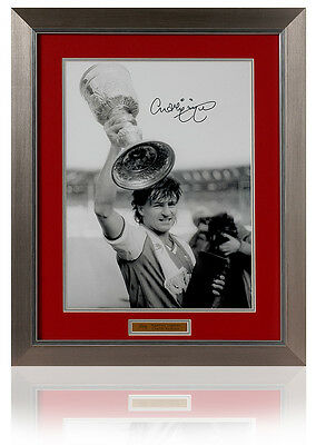Large Charlie Nicholas Hand Signed ARSENAL Presentation