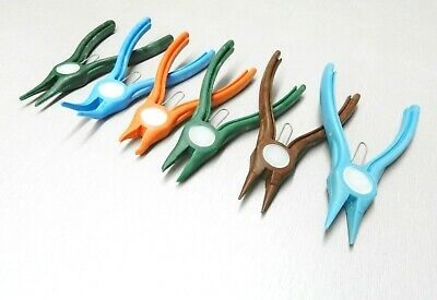 Nylon Pliers Set 6 Shapes Plastic Non Marring Hand Tools Jewelry Beading Crafts