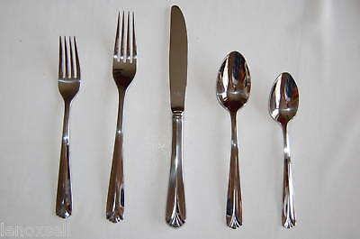 Gorham Gatehouse 5 piece Place Setting Flatware New in Box