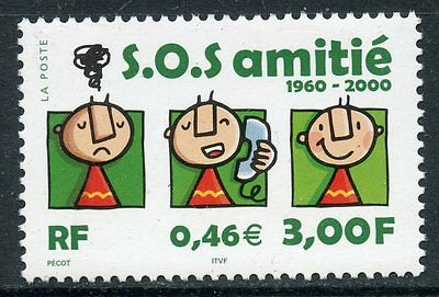 Stamp / Timbre France Neuf N° 3356 **  Sos Amitie