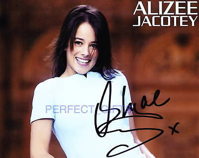 Alizee Jacotey Signed Pp Photo Star Moi Lolita Singer