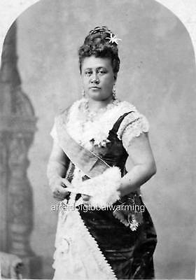 Photo 1879 Kapiolani - Queen of Hawaii