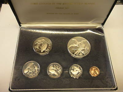 British Virgin Islands 1973 Proof set, w/ box and COA
