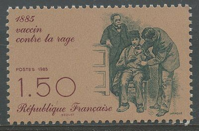STAMP / TIMBRE FRANCE NEUF N° 2371 ** vaccin contre la rage