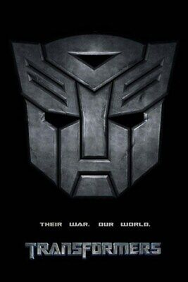 Transformers Teaser Movie Poster - Autobot Symbol