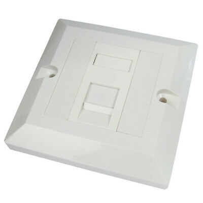 Single Socket RJ45 Wall Face Plate Faceplate Network