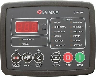 Datakom Dkg-207 Generator Automatic Mains Failure Control Panel (Amf)
