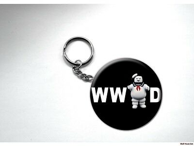 What Would MR. STAY PUFT Do GHOSTBUSTERS  Key Chain