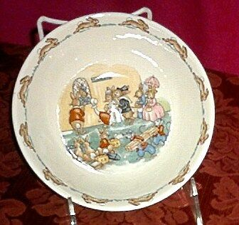 Royal Doulton Bunnykins Porcelain Cereal Bowl New