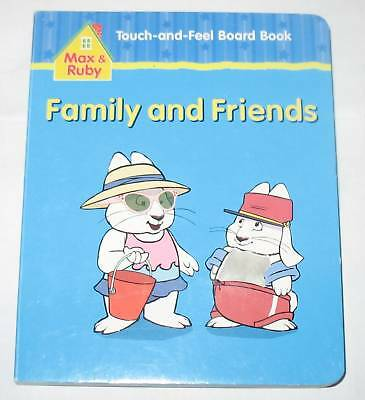 New Fun Max And Ruby Touch-And-Feel Board Book