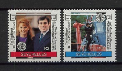 Seychelles 1986 Royal Wedding MNH Set