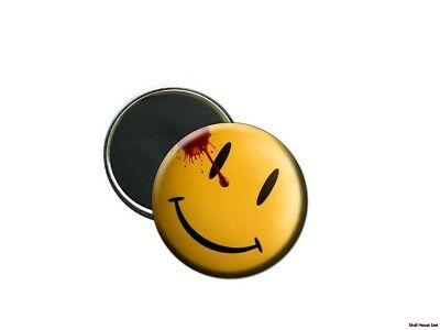 WATCHMEN SMILEY FACE BLOODY SMILE  2 1/4 inch magnet