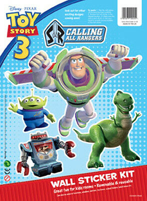 Disney Children's / Kids Toy Story 3 Collectors Wall Stickers - Buzz Lightyear