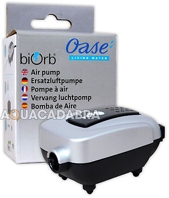 Oase Baby Biorb / Moonlight Air Pump 12V Ac 50Hz Aquarium Fish Tank Reef One