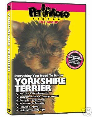 Pet Video Dog Breed Specific DVD Yorkshire Terrier