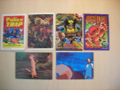 6-Variety Lot of Trading Cards