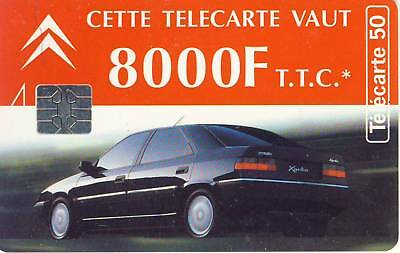 Carte Telephonique - Citroen Felix Faure 1994