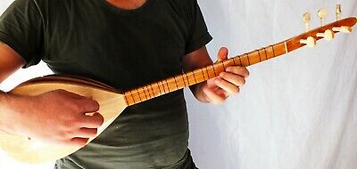 Turkish String Small Size Cura Saz  With  Free Case New