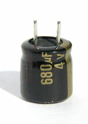 50pcs 4V 680uF 4V Panasonic FL 8x9mm Low ESR MB//VGA Capacitor