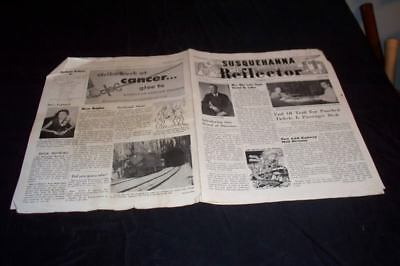 1954 Susquehanna Reflector Railroad Paterson NJ Mag