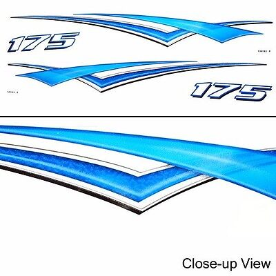 Bayliner 40 1/2 Inch Graphic 175 Boat Decal (Set)
