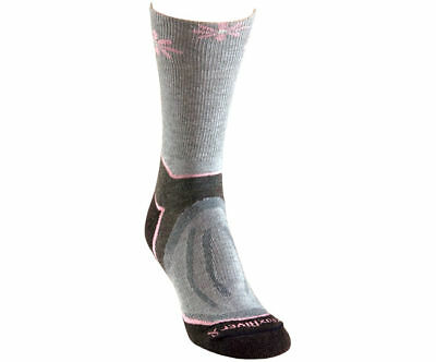 Fox River Strive Crew Walking Socks - Fog - 1-5.5