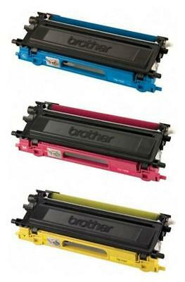 Genuine Brother Tn110C Tn110Y Tn110M Toner Set (3-Pack)