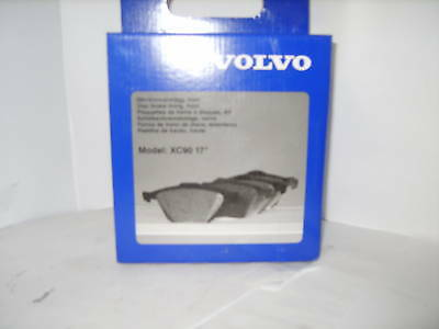 Volvo XC90 T6 20.8mm Thick Genuine Allied Nippon Front Brake Pads Set