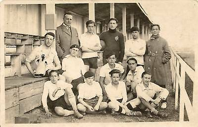 Cp Photo Equipe De Football 1910