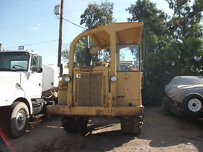 Caterpiller Scraper 613 Low Hrs In Phx Az Look!!!!!!!!!