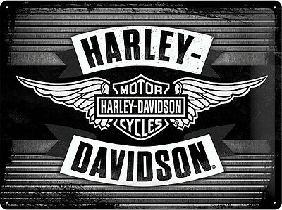 * Harley-Davidson Dealer Händler Parts Werbung Limited Edition HD Schild *681