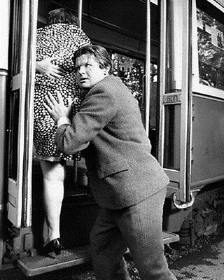 Benny Hill As Professor Simon Peach From The 8X10 Photo