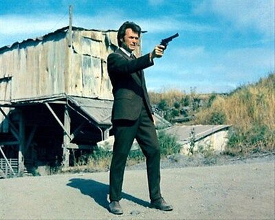 CLINT EASTWOOD AS INSP. HARRY CALLAHAN FROM  8X10 PHOTO fine pic 280029