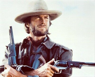 Clint Eastwood As Josey Wales From The Outla 8X10 Photo