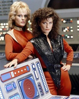 Jane Badler As Diana, June Chadwick As Lydia 8X10 Photo