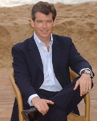 PIERCE BROSNAN 8X10 PHOTO nice photo 254918