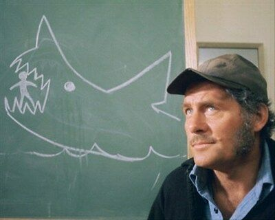 ROBERT SHAW AS QUINT FROM JAWS 8X10 PHOTO nice pic 269117