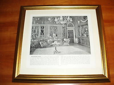 1896 Print over 100 years old Marlborough House London x