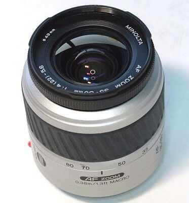 Minolta 35-80mm f4-5.6 Lens AF Maxxum Sony zoom mint for Sony A37 a57 CAMERAS