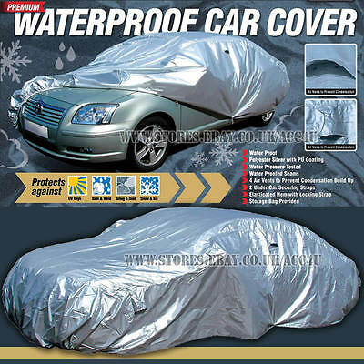 Maypole MP9332 Premium Medium PU Coated Waterproof Full Car Cover with Vent
