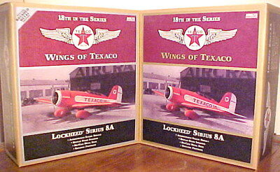 2010 Wings Texaco Lockheed Airplane #18 Regular & Special, Mint Boxes