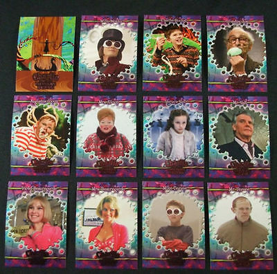 2005 Charlie & The Chocolate Factory - 90 Card Base Set